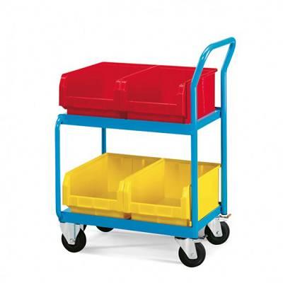 Foto de Carros de transporte para cajas