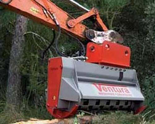 Foto de Trituradora forestal hidráulica