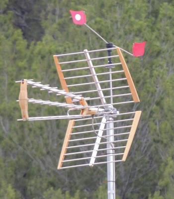 Foto de Espantapájaros para antenas
