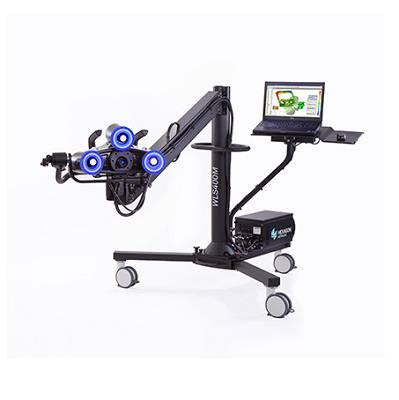 Foto de Sistema manual de digitalizado por luz blanca