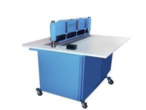 Foto de Máquina de corte de muestrario de tela automática