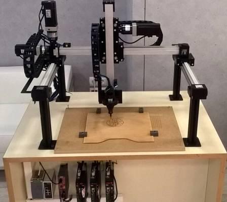 Foto de Robots gantrys o cartesianos
