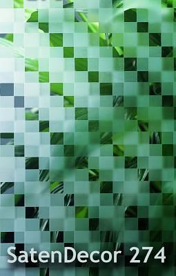 Foto de Vidrio satinado decorado al ácido