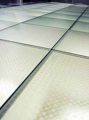 Foto de Vidrios pisables antideslizantes