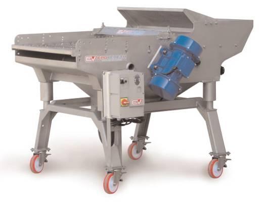 Foto de Máquina vibrante para la selección automática de uva despalillada