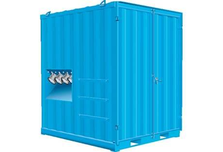 Foto de Unidades de aspiración en contenedor para industria pesada