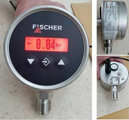 Foto de Vacuómetros digitales