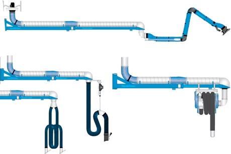 Foto de Extensiones para brazos de extracción