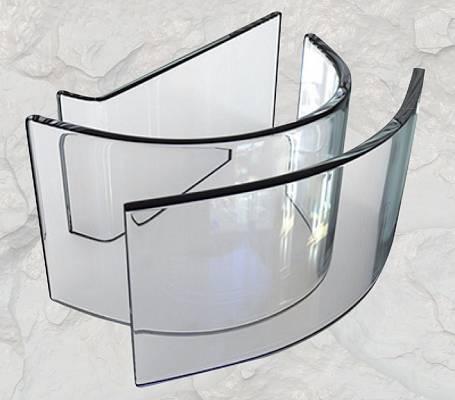 Foto de Cristales para maquinaria de obra pública