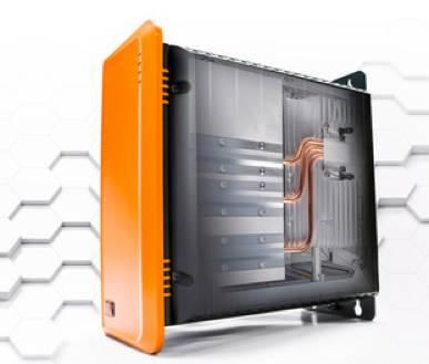 Foto de PC industrial de alto rendimiento