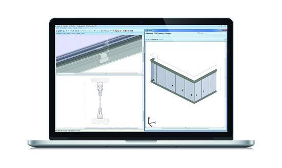 Foto de Software para cortinas de cristal y techos móviles o fijos