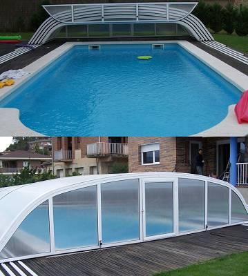 Foto de Cobertor para piscina particular