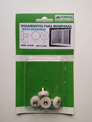 Rodamientos para mamparas de ba o ferpasa cerramientos y for Mosquiteras adaptables