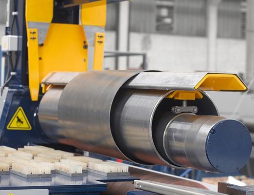 Foto de Cilindros curvadores de dos rodillos (poliuretano) de alta velocidad