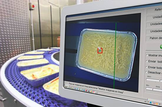 Foto de Control de calidad por visión artificial de canelones congelados