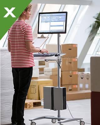 Foto de Estaciones de trabajo para monitores