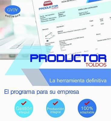 Foto de Software de gestión y producción de toldos