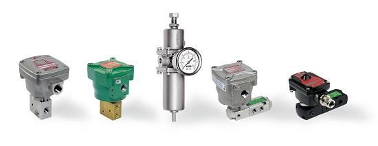 Foto de Electroválvula de mando directo y filtro regulador para baja temperatura
