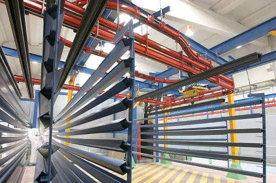 Foto de Lacado de perfiles de aluminio