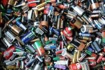 Foto de Reciclaje de pilas alcalinas usadas para valorizar