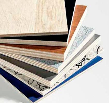 Foto de Paneles de madera contrachapada