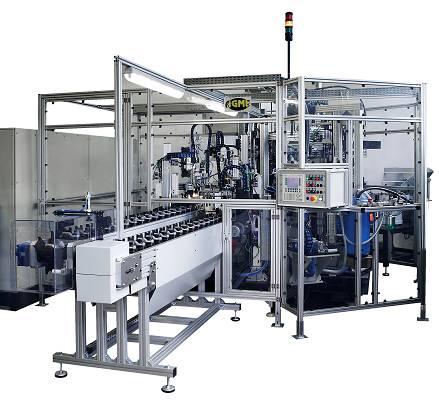 Foto de Máquinas para el montaje y engrasado de rótulas