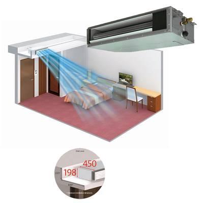 Aire acondicionado por conductos fujitsu serie la for Aire acondicionado por conductos panasonic