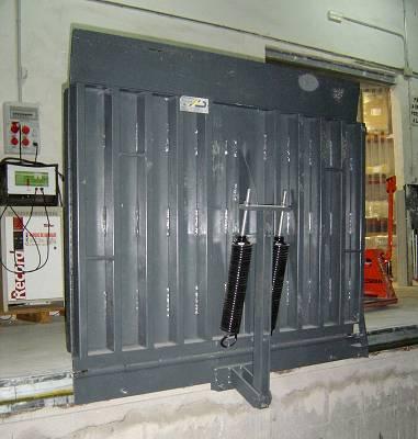 Foto de Pasarelas para carga de acero