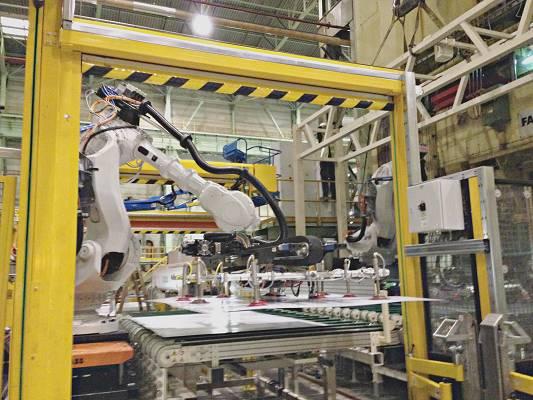 Foto de Puertas para protección de máquinas