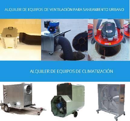 Foto de Renting de equipos de ventilación para espacios confinados y equipos de climatización y refrigeración industrial y ganadera