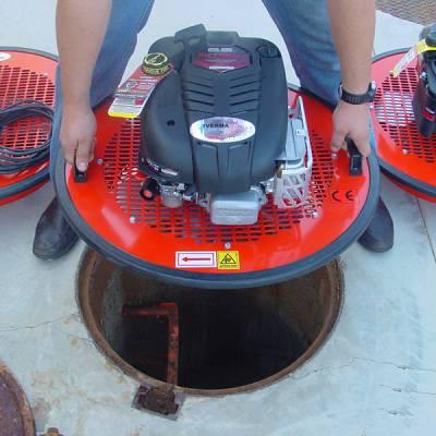 Foto de Equipos de ventilación para saneamiento para espacios confinados