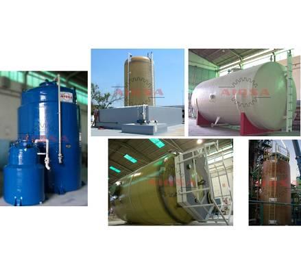 Foto de Depósitos de almacenamiento de productos corrosivos