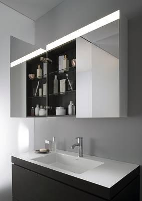 Muebles de espejo para ba o duravit espejo y luz for Muebles de bano con espejo y luz