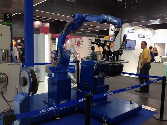 Foto de Robot de seis ejes para la soldadura de piezas