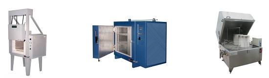 Foto de Hornos hasta 1.250 ºC, estufas hasta 600 ºC y lavadoras industriales