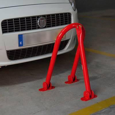 Foto de Barreras para parking guardaplazas con candado