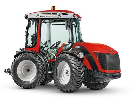 Foto de Tractor isodiamétrico articulado reversible