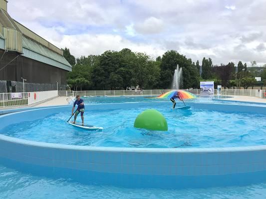 Bolas de olas para piscinas isaba wave ball isaba s a for Piscina wave