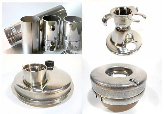 Foto de Piezas metálicas para tratamiento de fluidos