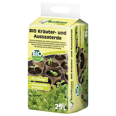 Foto de Sustratos bio para hierbas aromáticas y para la siembra