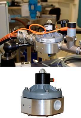 Foto de Acumulador y estabilizador de presión hidráulico