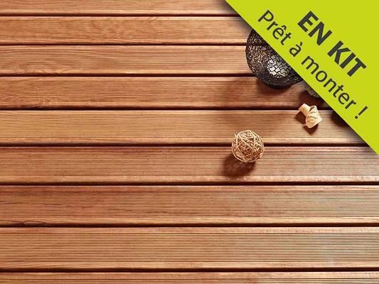 Foto de kit terraza de madera
