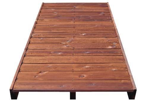 Foto de Losas de madera autoportantes