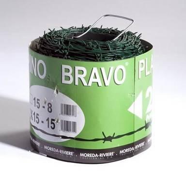 Foto de Rollo de alambre espino plastificado