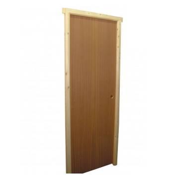 Foto de Puerta de madera de sapeli