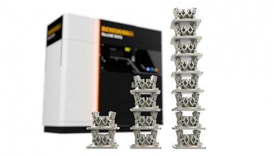 Foto de Sistema de cuatro láseres para fabricación aditiva