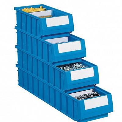 Foto de Cajas de plástico para estanterías
