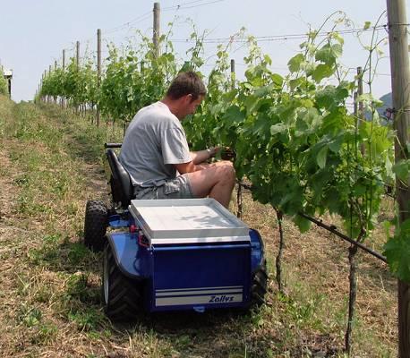 Foto de Vehículos eléctricos para trabajos agrícolas