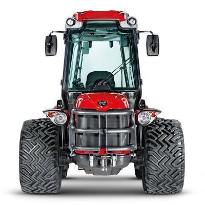 Foto de Tractor compacto con bastidor Actio
