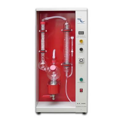 Foto de Destilador para la extracción del alcohol y acidez volátil